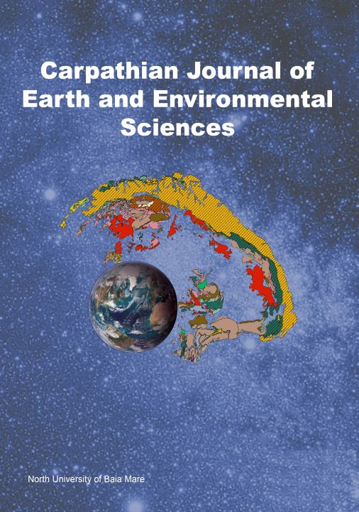Cover of Carpathian Journal of Earth And Environment Sciences